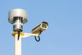 Telemetry system and security camera the photo of Stock Photo