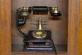 Telephone ancient Royalty Free Stock Photo