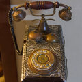 Telephone ancient Royalty Free Stock Photo