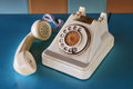 Telephone antique phone is no longer use Royalty Free Stock Images