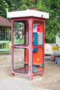 Telephone booth Royalty Free Stock Photo