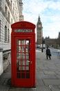 Telephone Box And Big Ben