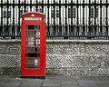 Telephone box, London Royalty Free Stock Photo