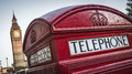 Telephone Box, London Stock Images