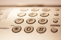Telephone buttons Royalty Free Stock Photo