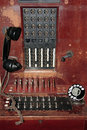 Telephone exchange Royalty Free Stock Images