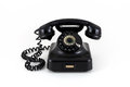 Telephone from the fifties Royalty Free Stock Photo