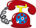 Telephone icon Royalty Free Stock Photography