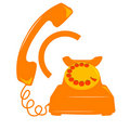 Telephone icon Stock Photos