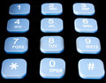 Telephone keypad Royalty Free Stock Photo