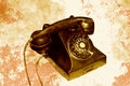 Telephone retro serie a antique Stock Photos