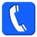Telephone Sign Royalty Free Stock Image