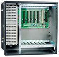 Telephone switch chassis Royalty Free Stock Photos