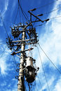Telephone wires Royalty Free Stock Photo