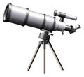 A telescope Royalty Free Stock Photo