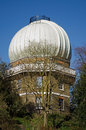 Telescope dome greenwich observatory covering the historic inch at the royal south east london now preserved as a museum Royalty Free Stock Image