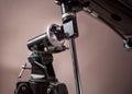 Telescope mount closeup