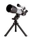 Telescope and Tripod Royalty Free Stock Photo