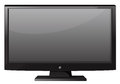 Television with flat screen Royalty Free Stock Photo