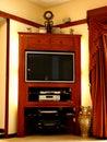 Television Furniture Stock Photos