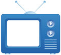 Television icon Stock Photo