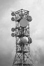 Television and radio repeater technology to transmit the signal of mobile phones Royalty Free Stock Photography