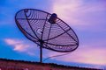 Television Satellite dish 5D3AF_7704 Royalty Free Stock Photo
