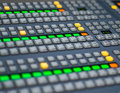 TELEVISION SWITCHER Royalty Free Stock Image