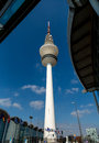 Television tower in Hamburg, Germany Stock Photography