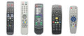 Television TV Remote Royalty Free Stock Photo