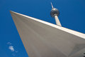 Televisiontower at Alexanderplatz in Berlin Royalty Free Stock Photos