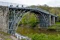 Telford Iron Bridge Royalty Free Stock Photo