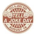 Tell a Joke Day, August 16
