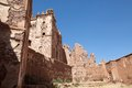 Telouet ancient kasbah ruins Royalty Free Stock Photos