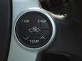 Temp control button in car Stock Photos