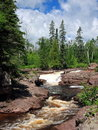 Temperance river Stock Photography