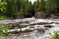 Temperance River State Park Royalty Free Stock Photo