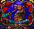 Temperance - Stained Glass in Mechelen Cathedral