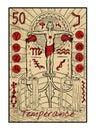 Temperance. The tarot card