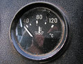 The temperature sensor in old truck Stock Image