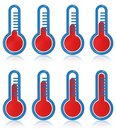 Temperature thermometers Royalty Free Stock Photo