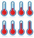 Temperature thermometers