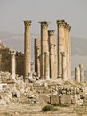 Tempiale di Artemis, Jerash Fotografia Stock Libera da Diritti