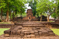 Tempiale di Prasat Muang Singh Fotografia Stock