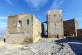 The Templar castle of Monzon. Of Arab origin 10th century Huesca Spain