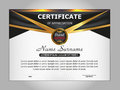 Template certificate of appreciation. Elegant design. Vector