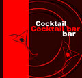 Template of a cocktail bar Royalty Free Stock Photos