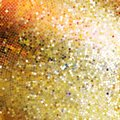 Template design on gold glittering eps background vector file included Royalty Free Stock Image