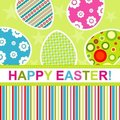 Template Easter greeting card Stock Photography