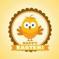 Vector Easter card festive background element illustration for print